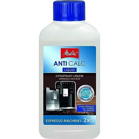 Melitta Détartrant Liquide, Pour Machines à Café Automatiques, à Capsules et à Dosettes, 250 ml