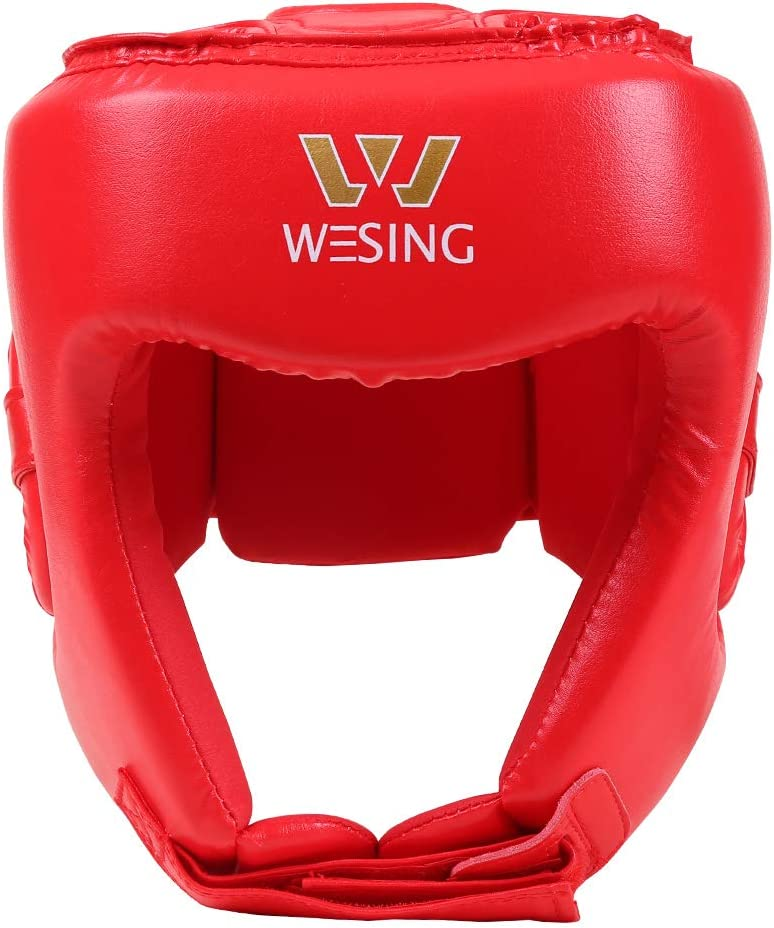 W WESING Casque de Boxe pour Arts Martiaux UFC