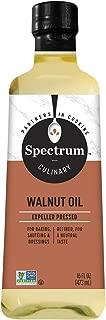 Spectrum Essentials Walnut Oil, Refined, 16 oz