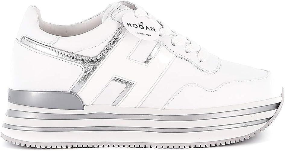 Amazon.com | Hogan Midi H222 Sneakers | Fashion Sneakers