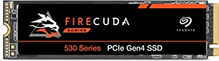 Seagate FireCuda 530 2TB Internal Solid State Drive - M.2 PCIe Gen4 ×4 NVMe 1.4, Transfer speeds up to 7300 MB/s, 3D TLC N...