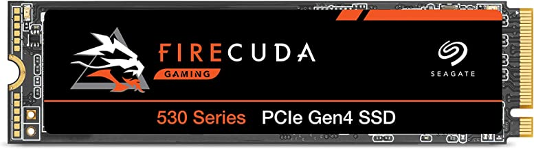 Seagate FireCuda 530, 1 TB, Interne SSD, M.2 PCIe Gen4 ×4 NVMe 1.4, overdrachtssnelheden tot 7300 MB/s, 3D TLC NAND, 1275 ...