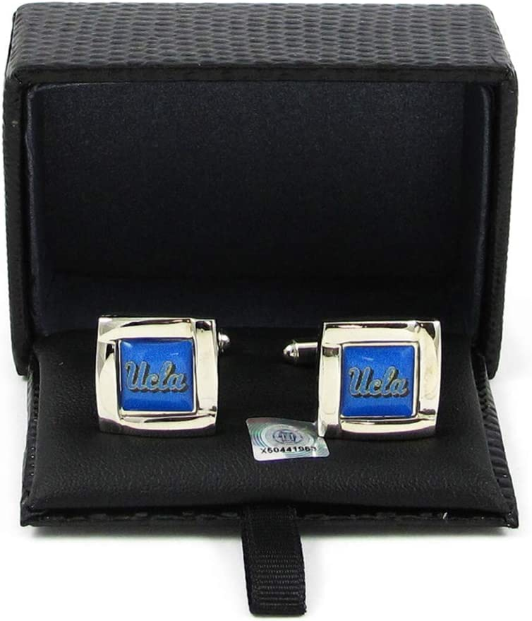 NCAA High quality Max 51% OFF UCLA Bruins Cuff Links Square