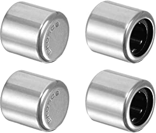 uxcell BK0509 Needle Roller Bearings, Drawn Cup Closed End, 5mm Bore 9mm OD 9mm Width 4pcs