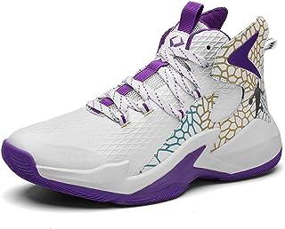 BINQI Männer Basketball Schuhe High-Top-Dämpfung Licht Anti-Skid AtmungsAktive Outdoor-Sportschuhe Man Sneakers