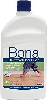 Bona Hardwood Floor Polish- High Gloss- Value Pack of 64 Ounces