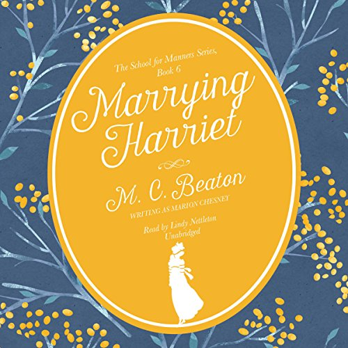 Marrying Harriet audiobook cover art