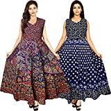 Women's A-Line Maxi Dress Pack of - 2