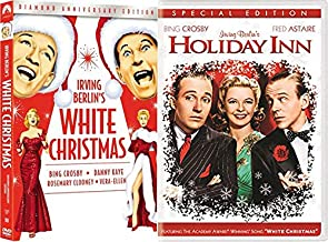 Bing's Treasures Movie Pack Classics Holiday Inn Fred Astaire + Irving Berlin's White Christmas Crosby Diamond DVD Edition Double Feature