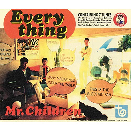 EVERYTHING / Mr.Children