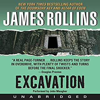 Excavation audiobook cover art