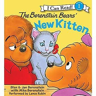 The Berenstain Bears' New Kitten audiobook cover art