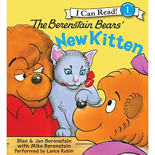 The Berenstain Bears' New Kitten audiobook cover art