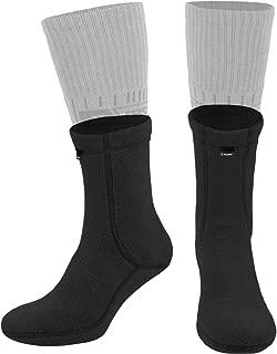281Z Hiking Warm Liners Boot Socks - Military Tactical Outdoor Sport - Polartec Fleece Winter Socks (Black)