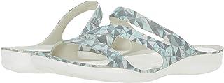 Crocs Swiftwater Geometric Printed Sandal womens Slide Sandal
