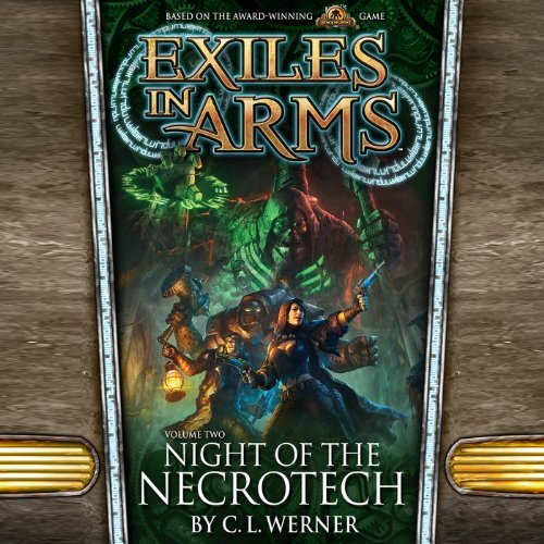 Night of the Necrotech audiobook cover art