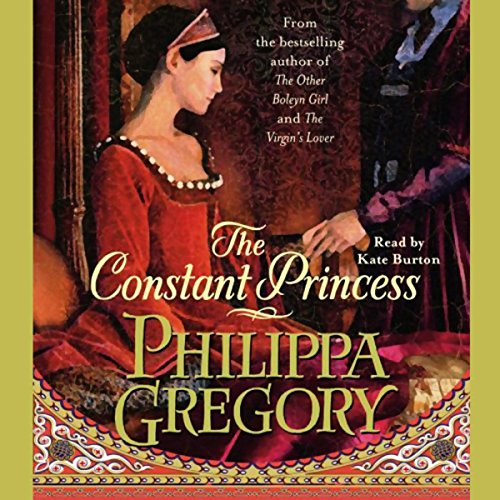 The Constant Princess audiobook cover art