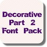 Decorative Part 2 Font Pack
