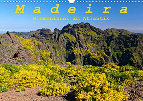 Madeira Blumeninsel im Atlantik (Wandkalender 2021 DIN A3 quer)