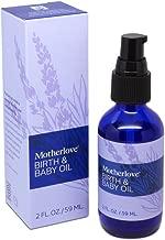 Motherlove Birth & Baby Oil (2 oz.) Gentle Moisturizer for Baby's Dry Skin &..
