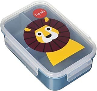 3 Sprouts Lunch Bento Box – Leakproof 3 Compartment Lunchbox Container for Kids