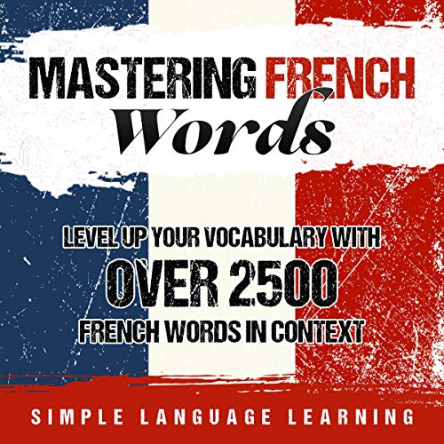 Mastering French Words cover art
