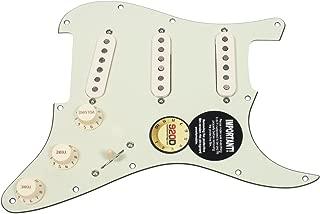 Fender Original '57/'62 Strat Loaded Pickguard Mint Green / Aged White