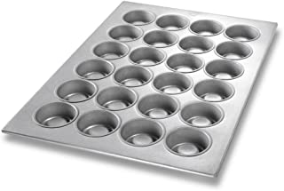 Chicago Metallic 43395 24-Cavity MaryAnn/Strawberry Shortcake Pan