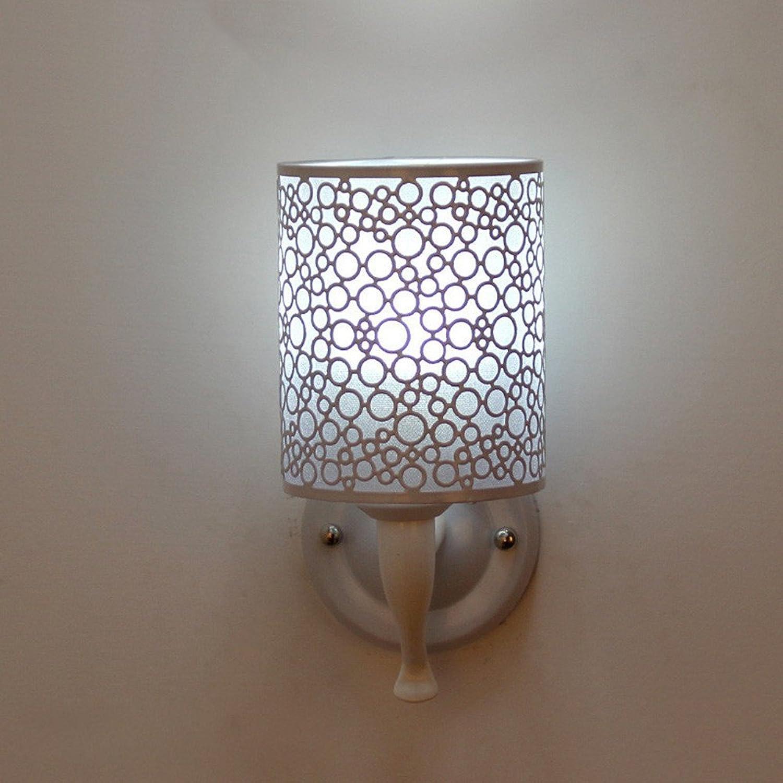 StiefelU LED Wandleuchte nach oben und unten Wandleuchten Wandleuchte wall LED Wandleuchte Schlafzimmer Nachttischlampe Wohnzimmer Restaurant, Kreis Bar ist wei 14  24 cm