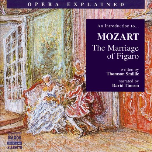 Mozart: The Marriage of Figaro audiobook cover art