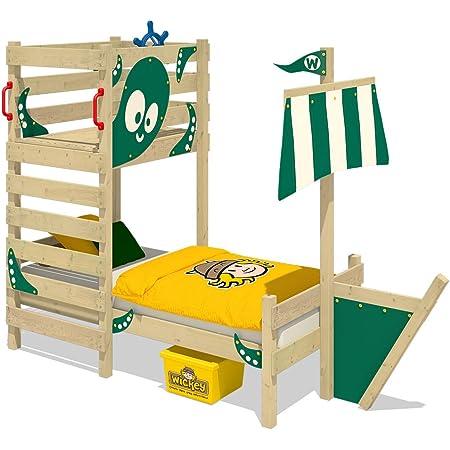 WICKEY Cama de aventuras CrAzY Bounty Cama infantil 90x200 ...
