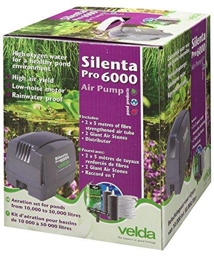 Velda 125099 Professionelles Belüftungsset für Teiche bis 50000 Liter, 80 Watt, Silenta Pro 6000
