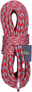 GLJJQMY Climbing Rope, Static Rope, Life-Saving Escape Rope, Aerial Work Rope, Rappelling Rope Diameter, 11/12mm Ropes (Color : A, Size : 11mm 40m)