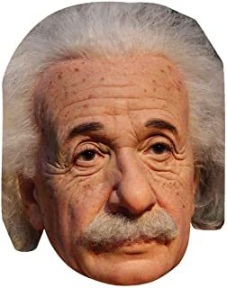 Celebrity Cutouts Albert Einstein Big Head. Larger Than Life mask.