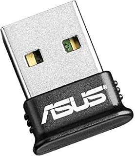 Asus USB-BT400 USB Adapter w/Bluetooth Dongle Receiver Transfer Wireless for Laptop PC Support Windows Plug and Play, Prin...