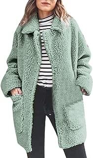 Warm Parka Outwear Women Winter Jacket Plush Pocket Outercoat Long Coat