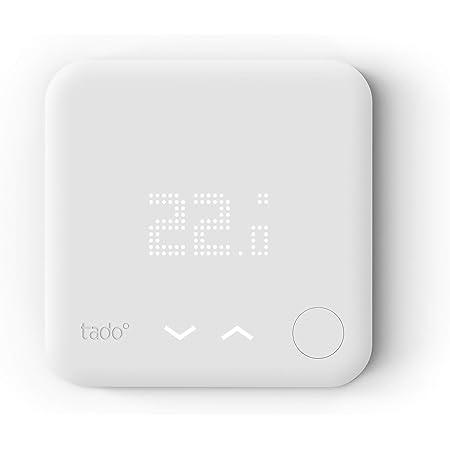 tado° Thermostat Connecté et Intelligent filaire – Accessoire pour le contrôle multi-pièces, contrôle de chauffage intelligent, Installez par vous-même