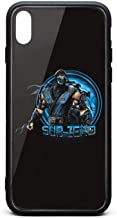 iPhone X Case Subzero-Mortal-Kombat- Ultra-Thin Back Case Shock-Absorption Bumper Cover TPU Soft Rubber Silicone Cover Phone Case for iPhone X Case [5.8inch]