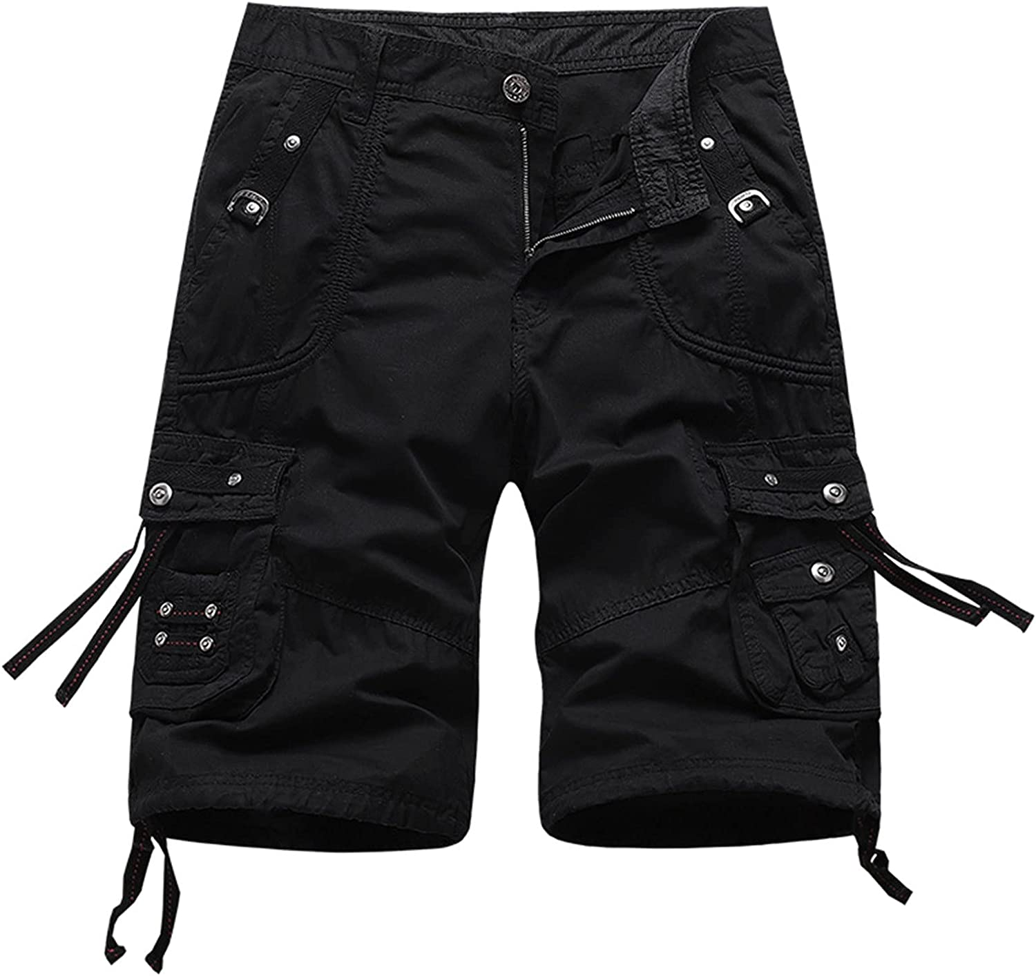 Our shop OFFers the best service Men's Relaxed Fit Multi Pockets Loose Max 85% OFF f Cargo Outdoor Shorts