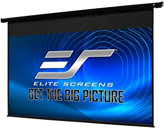 Elite Screens Spectrum Electric Motorized Projector Screen with Multi Aspect Ratio..