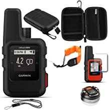 Garmin inReach Mini GPS (Black) with Accessories Bundle