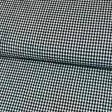 Stoffe Werning Seersucker Karo Marine Modestoffe Baumwolle