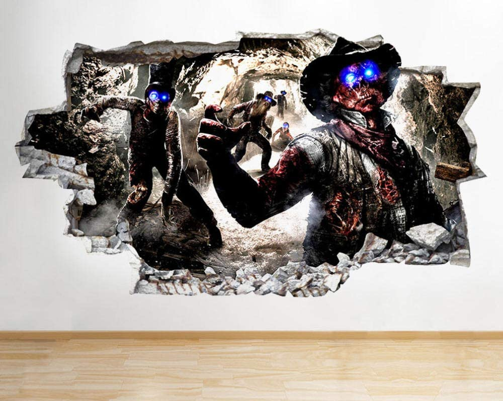 LHHYY Wall Stickers R956 Cool Game Kids Zombies Wal Boys Finally popular Spasm price brand Smashed