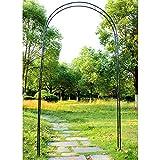 SXNYC Arco de Jardín, Arco para Trepadoras, Acero Jardín Rosa Arco, Pérgola de Jardín, para Enredadera, Rosales