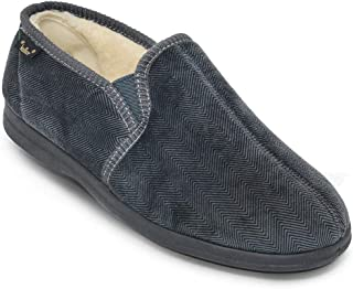 Dr Keller Mens Slipper Wide Fit