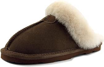 unisex sheepskin slippers