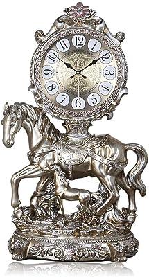 Table Clock Home Reloj de Mesa Relojes de Mesa para Sala de Estar Decoración Dormitorio Operado