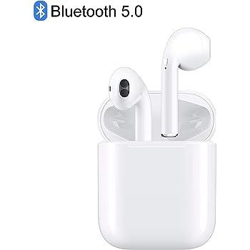 【2020新版 Bluetooth】Bluetooth イヤホン ワイヤレス イヤホン 自動ペアリング マイク付き イヤホン 防水 超大容量充電ケース付き
