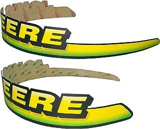 New Kumar Bros USA LH & RH Upper Hood Decal Set Replaces AM122823 fits John Deere LT133 LT155 LT166 LTR155 LTR166