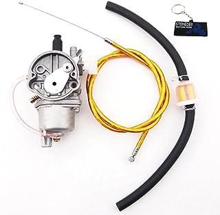 STONEDER Cable de Acelerador de Gas Dorado para carburador de carburador y Filtro de Combustible para